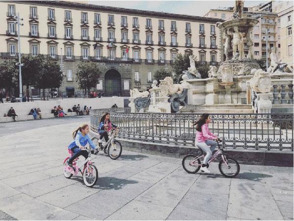 napoli bici bambini
