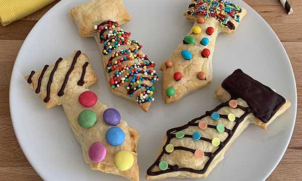 cravatte di cioccolata