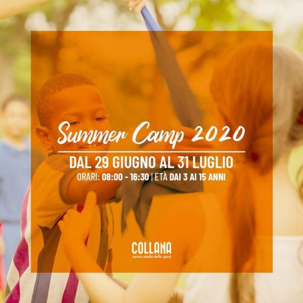 summer camp 2020 allo stadio collana