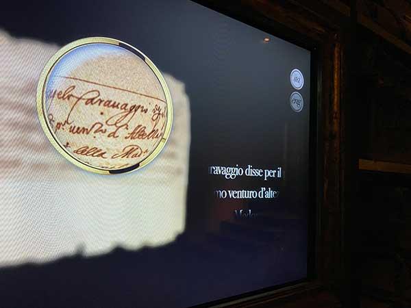 caravaggio Cartastorie museo archivio banco di Napoli