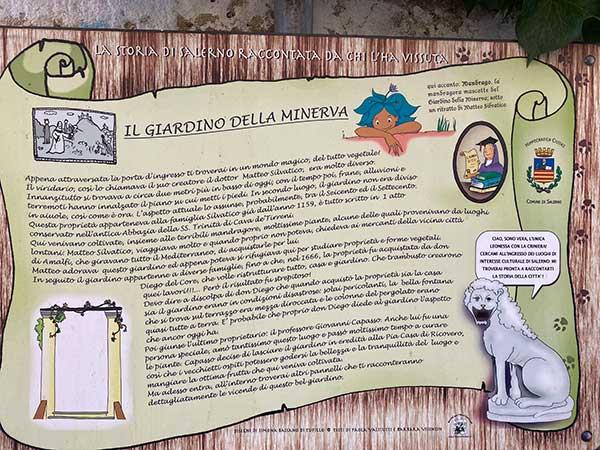 Giardino della Minerva Salerno