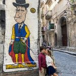 Quartieri spagnoli murale Toto D Filippo Viaggiapiccoli