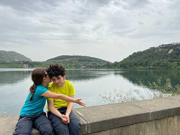 lago averno bambini
