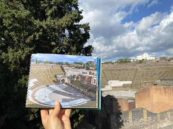 libri per bambini su Pompei
