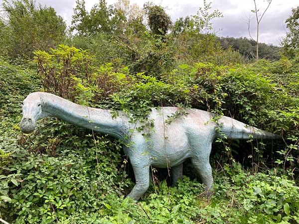 dinosauro ricostruzione