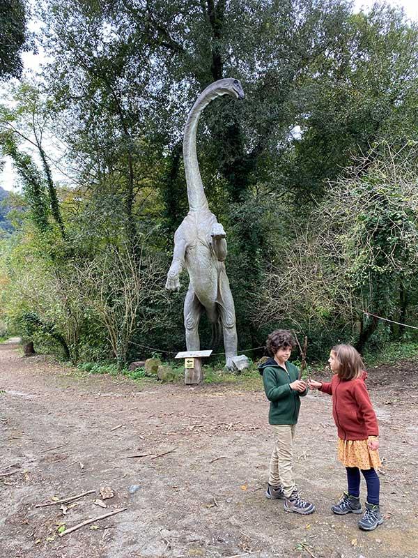 Oasi astroni dinosauro bambini