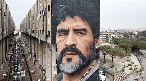 Murale maradona Jorit