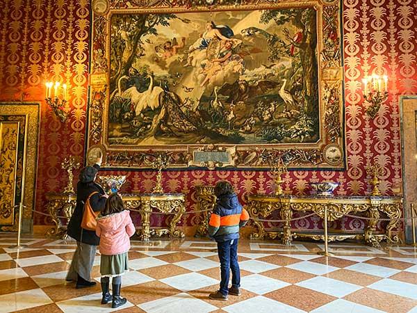 palazzo reale guida bambini