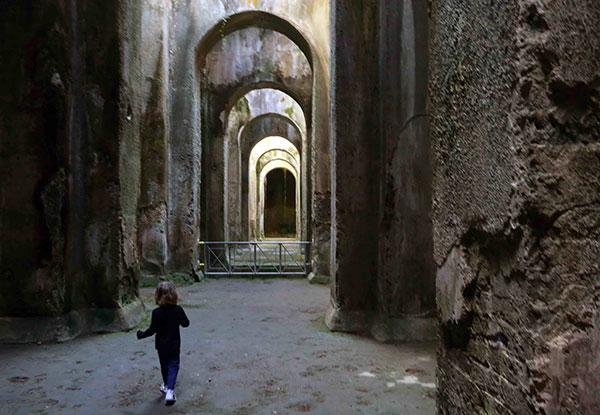 Visita alla Piscina Mirabilis di Bacoli