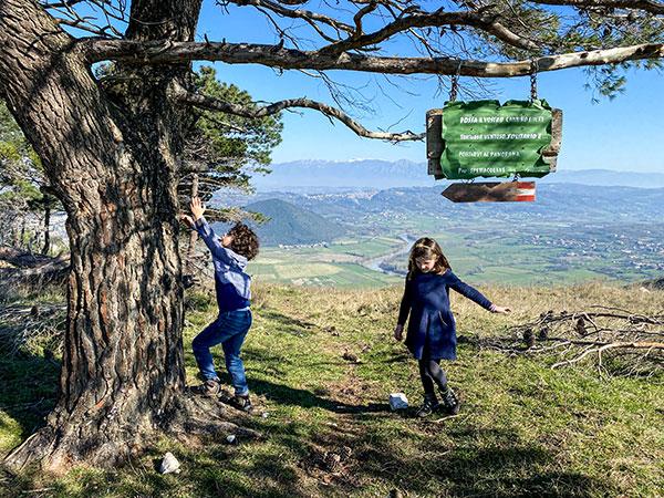 Sentiero del Mirto Castel Morrone-cai-630-