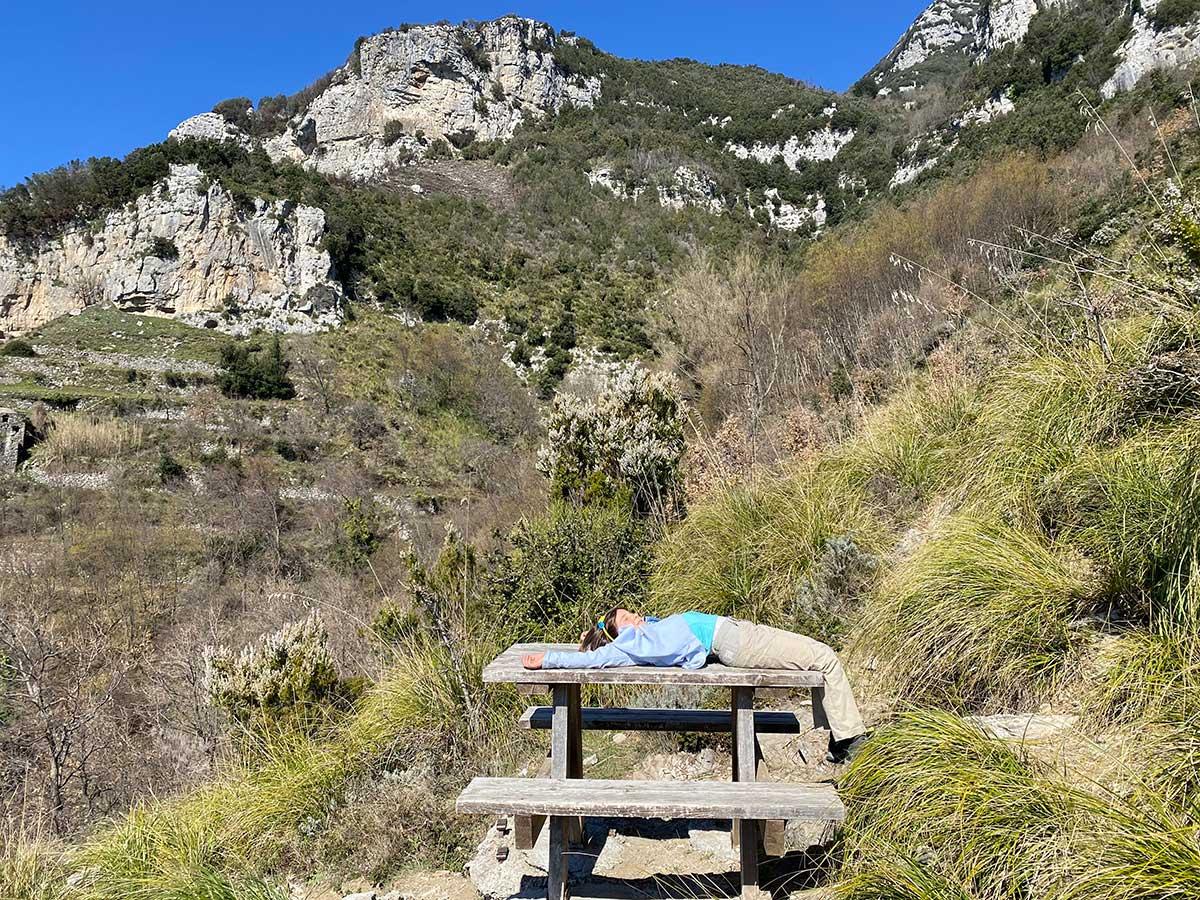 Sentiero degli dei picnic