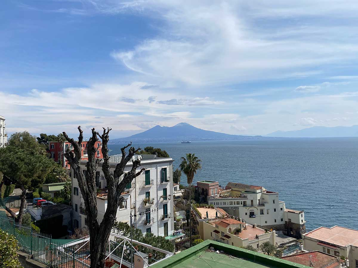 Vesuvio da Via posillipo