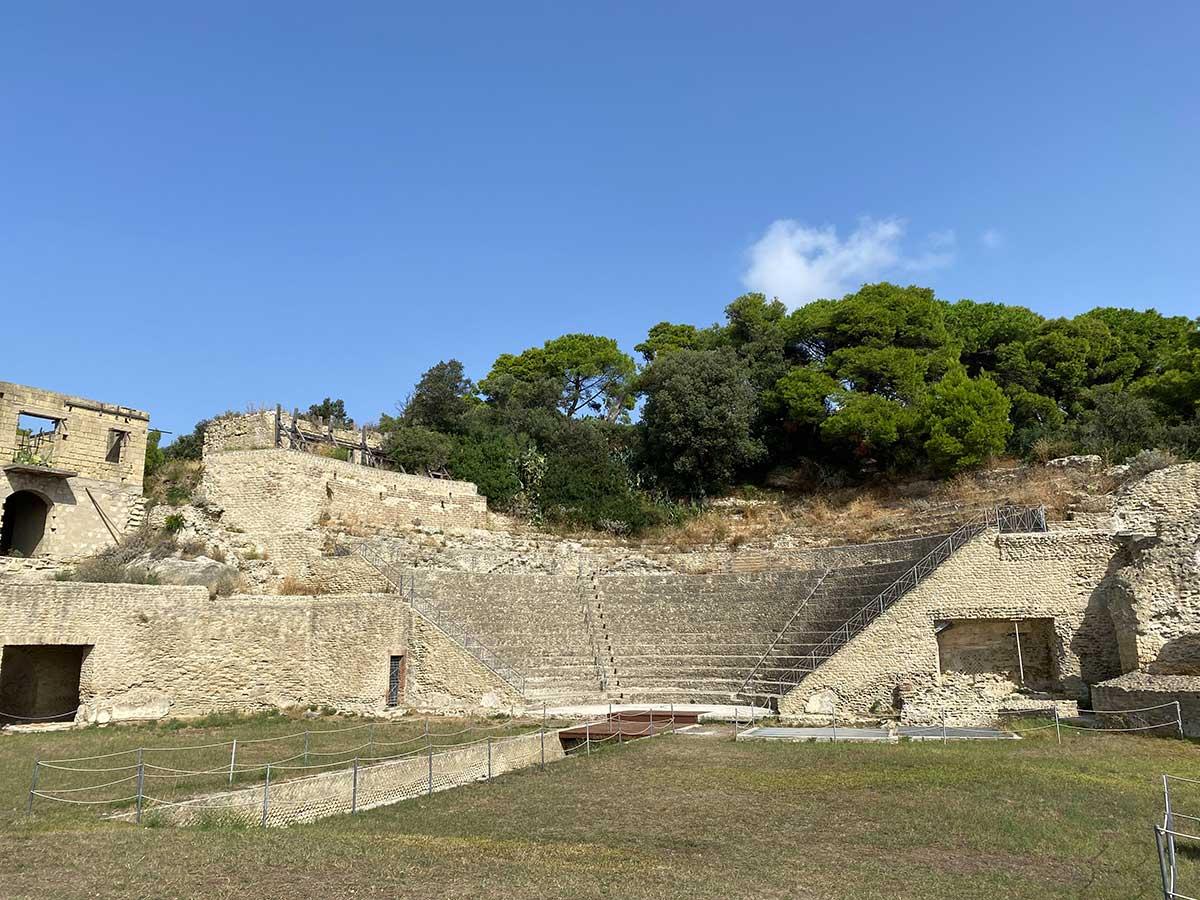 Parco Archeologico del Pausilypon teatro